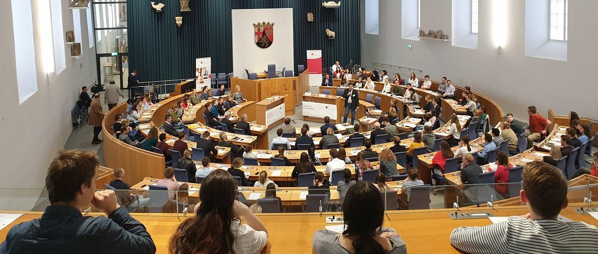 Jugend debattiert - Landesentscheid 2019-1
