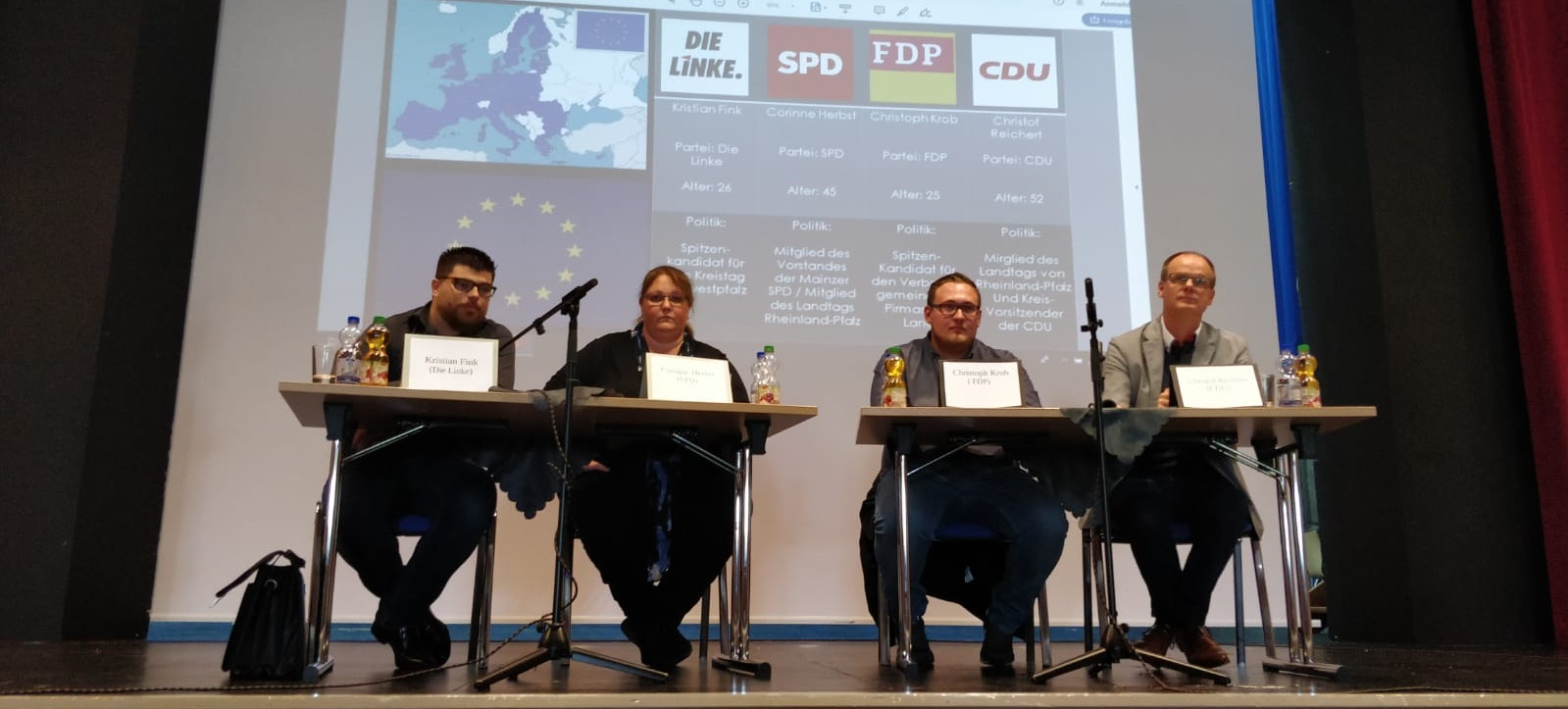 Podiumsdiskussion 2019 Europawahl